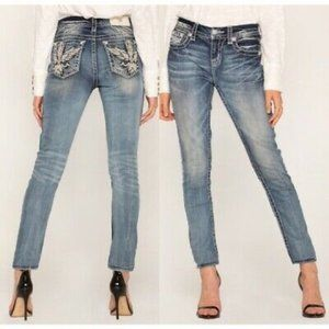 Miss Me Mid-Rise Easy Skinny Jeans 36  19/20